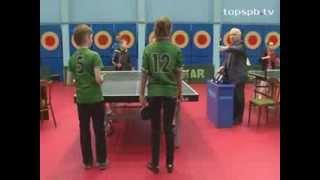 Сревнования по настольному теннису среди воспитанников детских домов и школ-интернатов