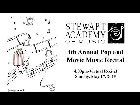Stewart Academy of Music Spring Recital 5/17/2020