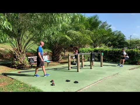 Fab Berger Coach Sportif - Circuit Training Coaching en Couple - Martinique