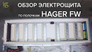 Обзор электрощита Hager FW/FWB. Сравним с ABB AT/U
