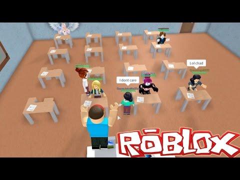 Roblox / Roblox High School / Let's Cut Class! / Gamer Chad Plays