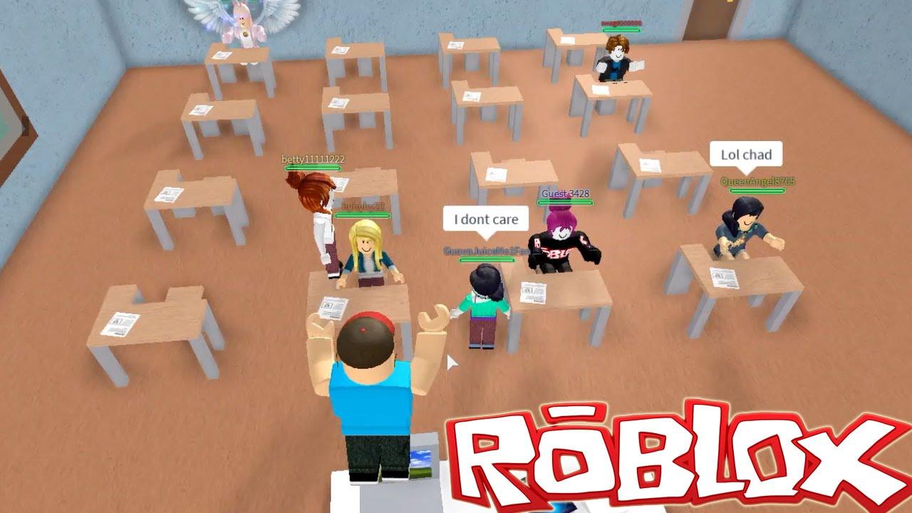 Roblox Roblox High School Lets Cut Class Gamer Chad Plays