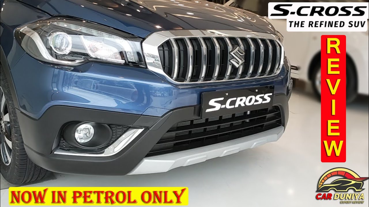 2020 S Cross is Back Again with Petrol Engine Only ! Detailed Review ! Price ! Colour ! Features 🔥🔥🔥