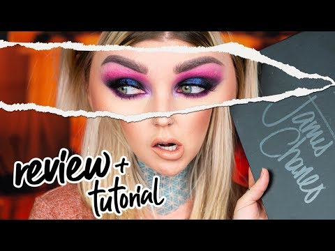 Review & Tutorial James Charles Morphe Palette | Kristen Leanne