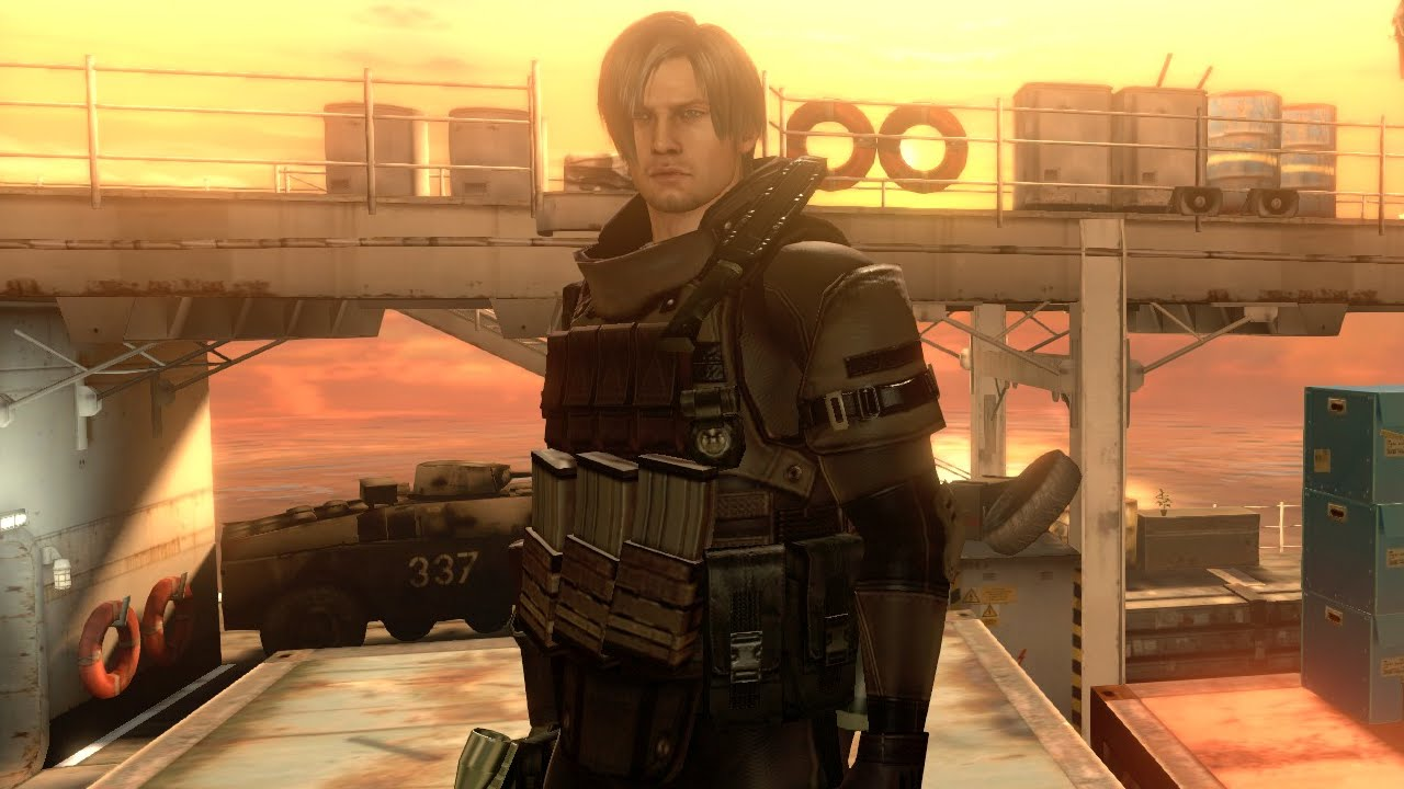 Mod Showcase: Resident Evil 6: Leon Shirtless Mod By