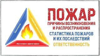 Пожар, причины возникновения и распространения  Статистика пожаров и их последствий  Ответственность
