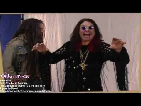 The Osbournes: 1x6: Trouble in Paradise