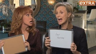 How Well Do They Know Each Other? Kathy Griffin and Jane Lynch Take Our BFF Quiz!