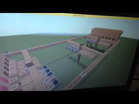 Minecraft- Telegraph with  Morse Code