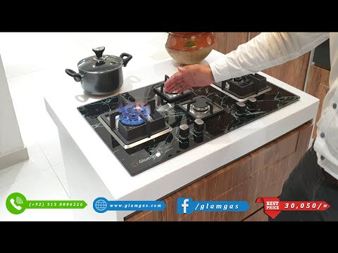glam-gas-built-in-gas-hob-4-burner-review-session............!