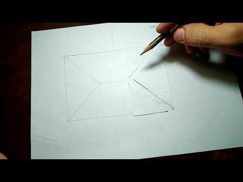 Четырехскатная крыша из профнастила своими руками чертежи и фото видео