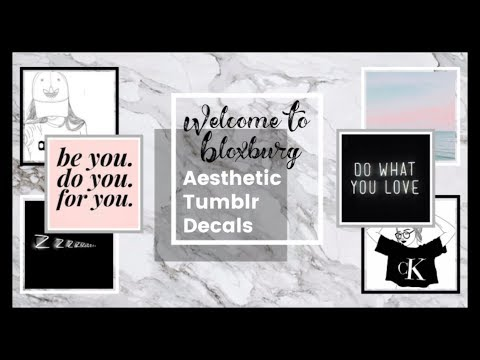 20-bloxburg-aesthetic-decal-id's!-(codes-in-description)