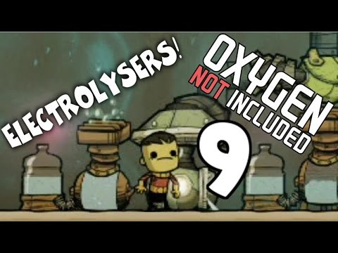 Switching from Algae to Electrolysers! - Oxygen Not Included - ONI Gameplay Part 9