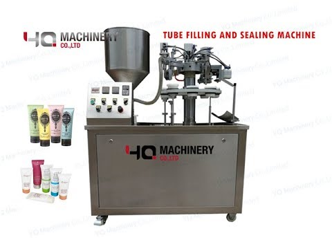 Semi Automatic Tube Filling And Sealing Machine Price 丨cream Filler