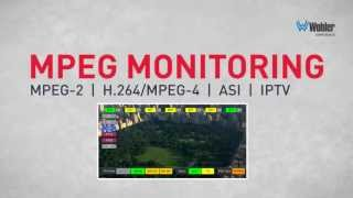 MPEG-2 and MPEG-4/H.264 Monitoring and Analysis - MPEG Series(Only the MPEG series decodes, displays, and monitors MPEG transport streams carrying MPEG-2, MPEG-4/H.264 encoded video plus all associated data tables ..., 2013-09-09T19:53:34.000Z)
