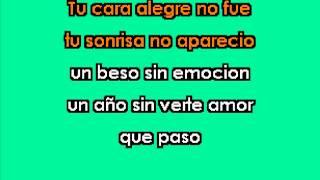 DIMELO Los Temerarios karaoke