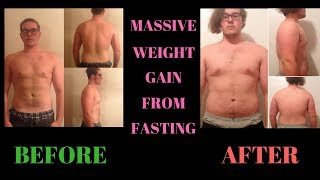 MASSIVE WEIGHT & FAT GAIN AFTER WATER FASTING!!! | Something I Wish I Knew Before