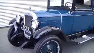 Chevrolet Capitol Coach 1928 restored in europe good condition -VIDEO- www.ERclassics.com