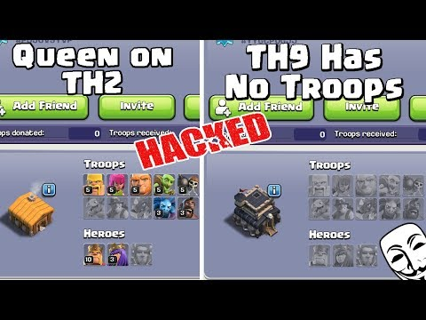 I Found Hacker In Clash Of Clans - COC