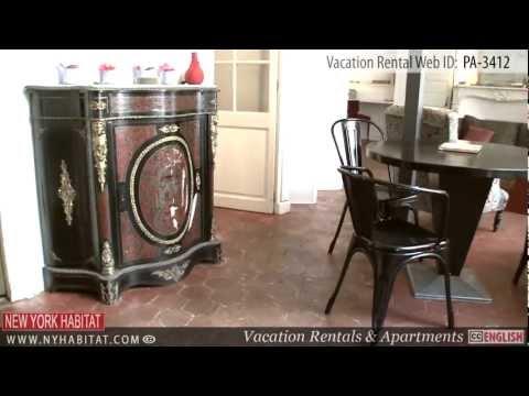 Paris, France - Video tour of a vacation rental on the Ile Saint- Louis