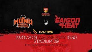 ABL9 || Away - Game 14: Mono Vampire vs Saigon Heat 23/01 | Full Game Replay