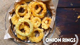 Cách làm Hành Tây Tẩm Bột Chiên    Món ăn vặt   How to Make Crispy Onion Rings   Ngon Plus