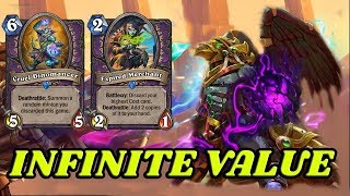Wild Infinite Value Warlock | Saviors of Uldum | Hearthstone