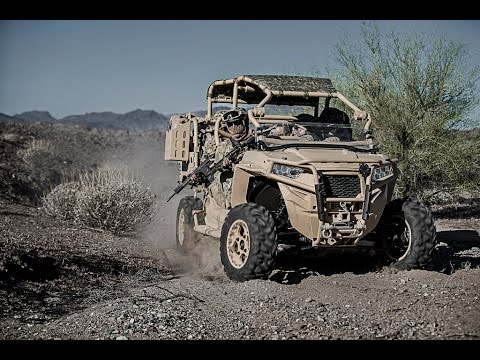 Polaris Defense Unveils Turbo Diesel MRZR