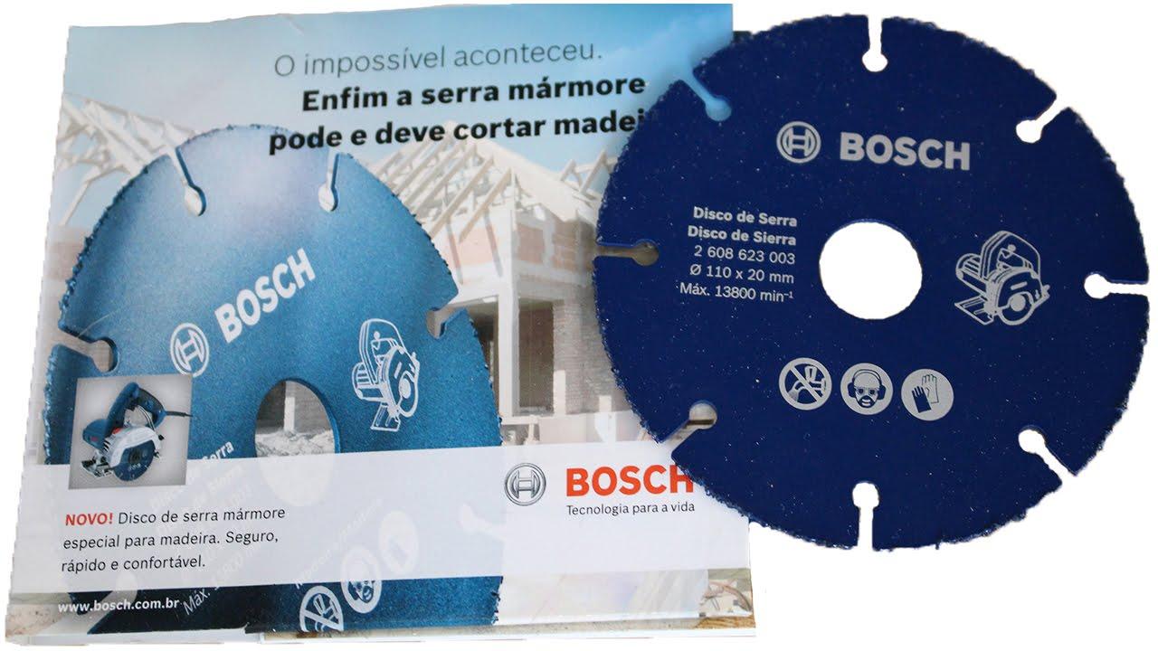 Карбид вольфрамовый диск Bosch (оснастка для УШМ) - YouTube