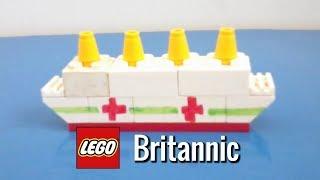 How To Build a Mini LEGO Britannic
