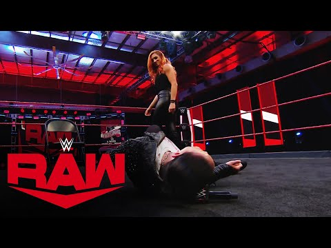 Becky Lynch punches Asuka in the face: Raw, Jan. 6, 2020 from YouTube · Duration:  3 minutes 9 seconds