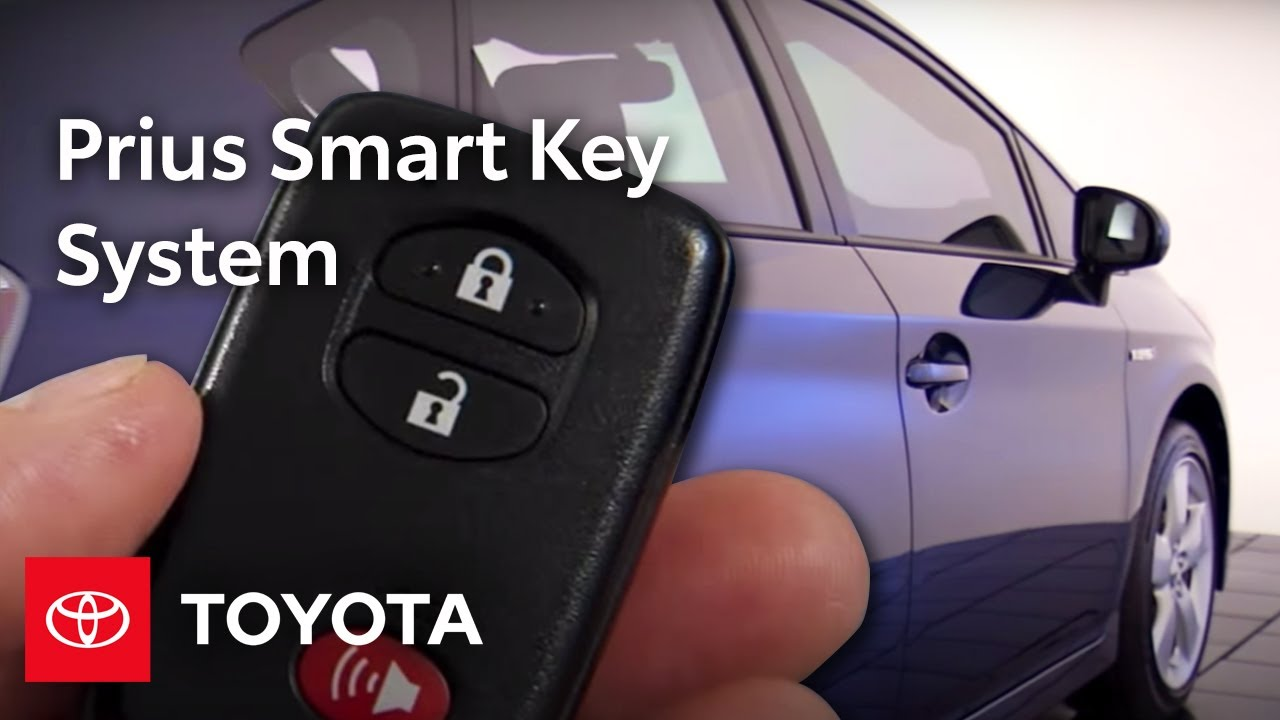 How To Unlock and Start Your Toyota Prius With a Dead Key