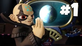 Skylanders SuperChargers: Ch 1: Skylanders in Chains - Part 1 [Xbox One Gameplay, Commentary]