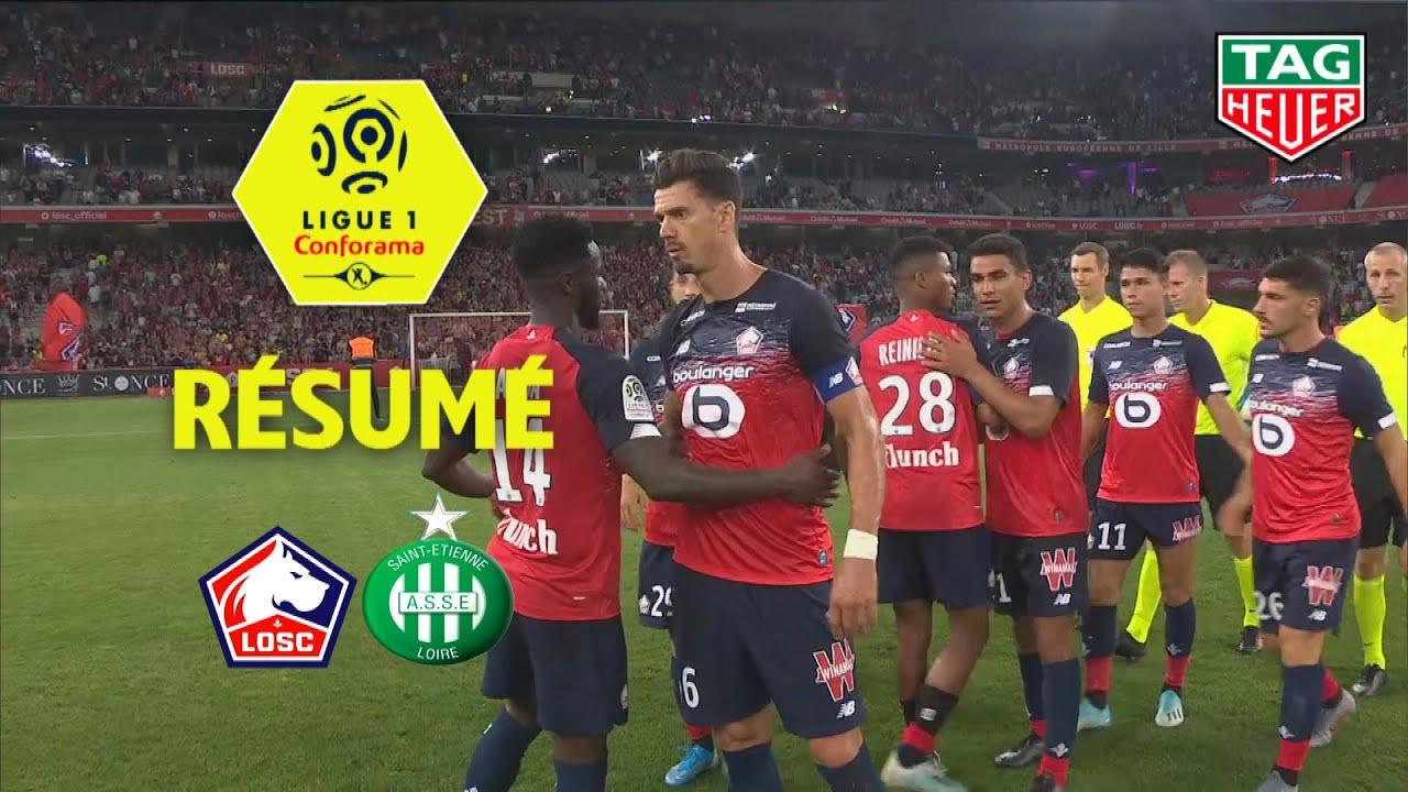 Losc As Saint Etienne 3 0 Resume Losc Asse 2019 20