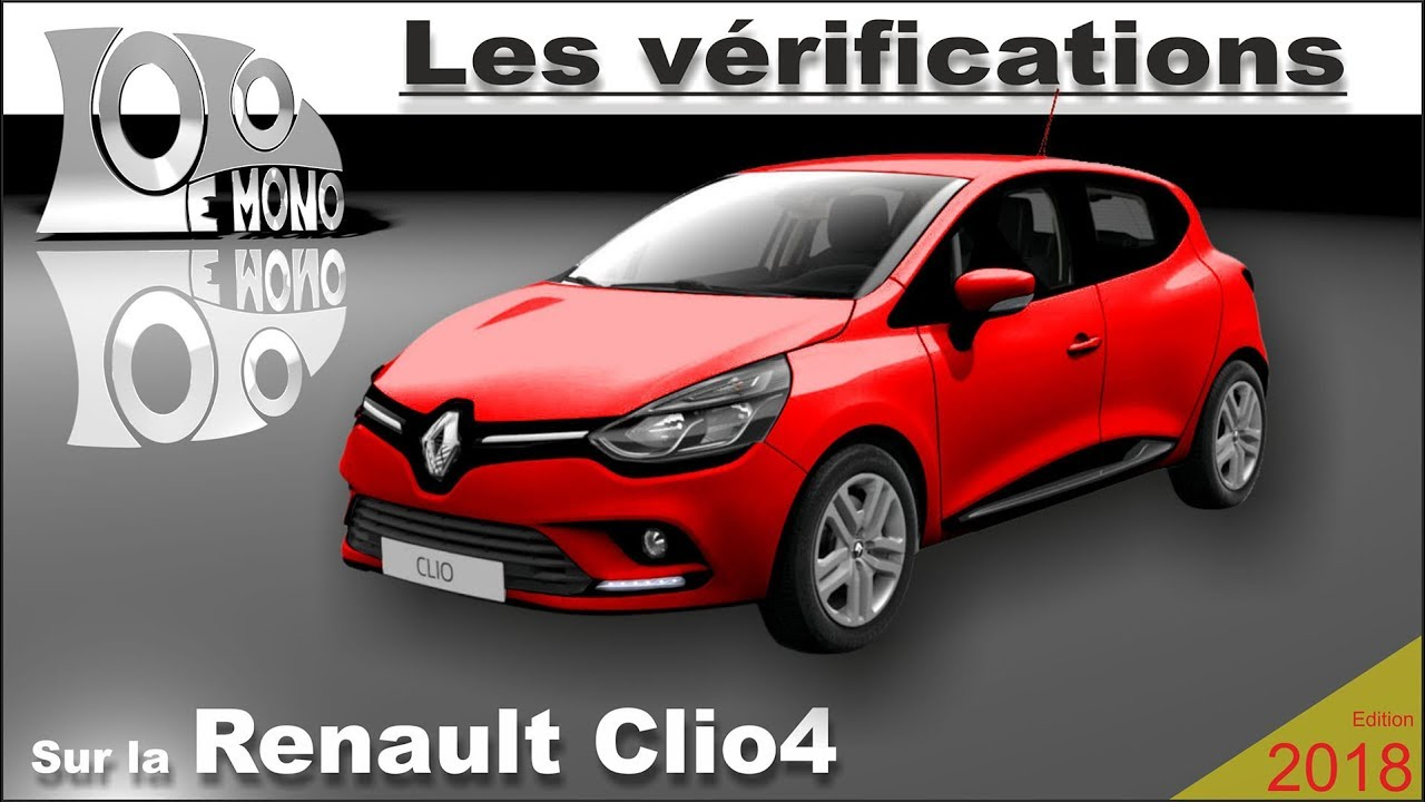 renault clio 4 v rifications et s curit routi re youtube. Black Bedroom Furniture Sets. Home Design Ideas