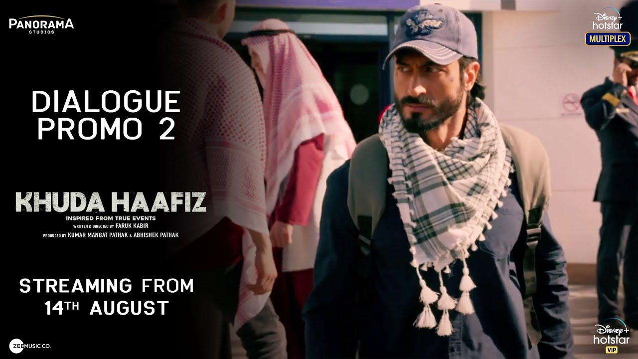 Khuda Haafiz | Dialogue Promo 2 | Vidyut Jammwal | Aahana Kumra | Faruk Kabir |14th August 2020