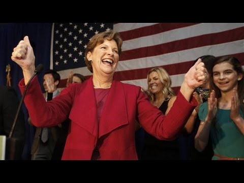 U.S. Sen. Jeanne Shaheen Delivers Victory Speech