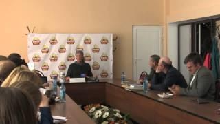Михаил Задорнов. Интервью в  Смоленске. Часть 1