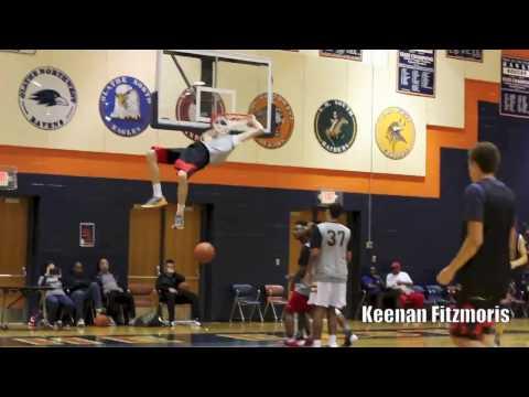7ft Keenan Fitzmorris Blows Up @ NEP Fall Ball Showcase !