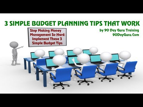 3 Simple Budget Planning Tips That Work