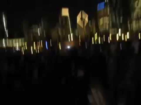 Obama Grant Park Live Reaction to CNN Projection
