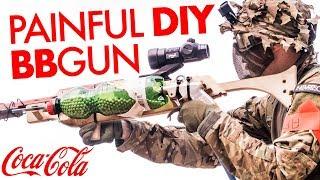 Most Painful DIY BBgun vs Airsofters