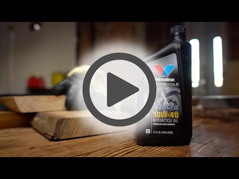 Valvoline 10W 40 Motorcycle Oil