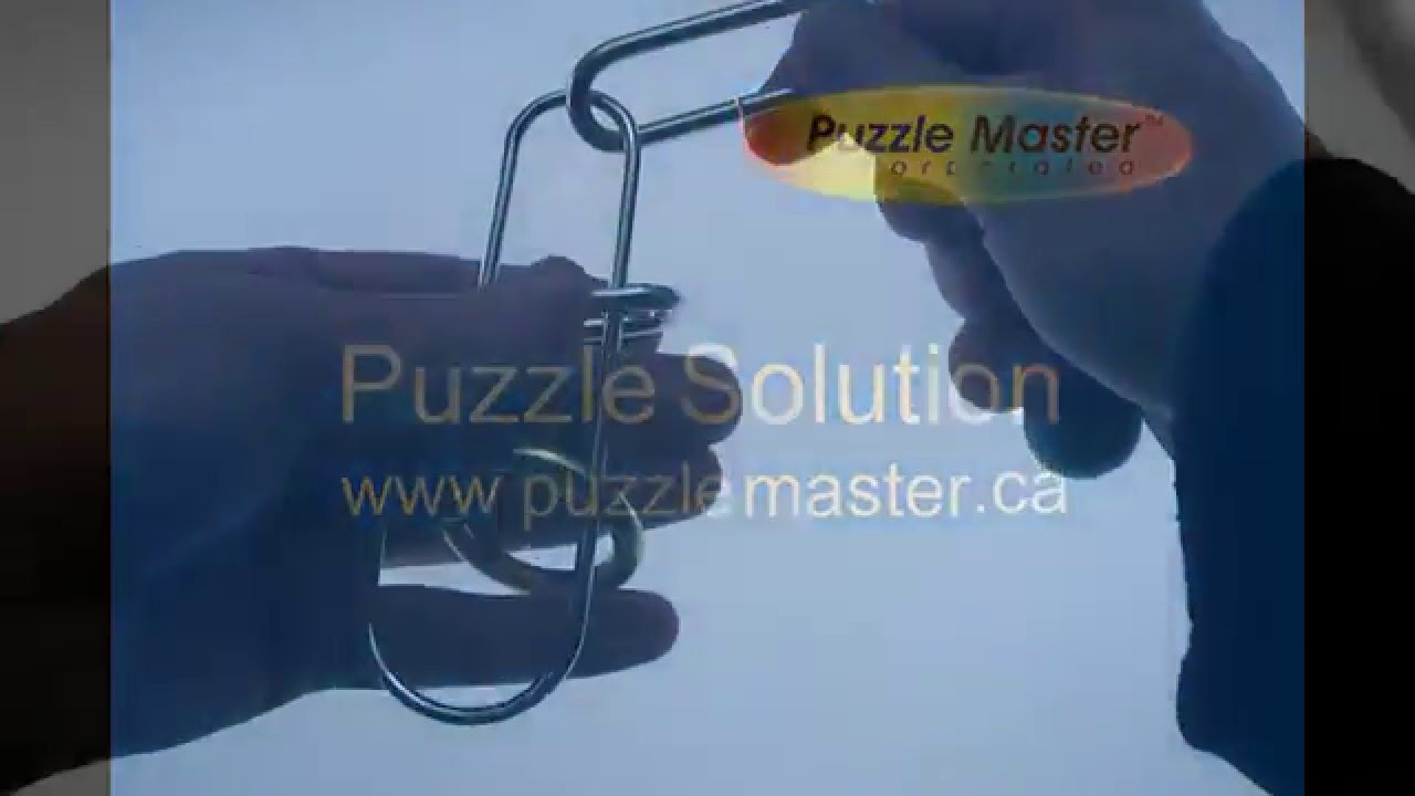 Solution for Make My Day from Puzzle Master Wire Puzzles - YouTube