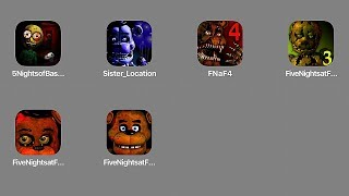 Скачать Five Nights At Freddy S 2 3 4 Sister Location 5 Nights Of Basic Education 5 Ночей с Фредди