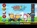 Red Ball 4 - HAPPY NEW YEAR with FUNNY MINIONS 'All New Balls Fights All Bosses'