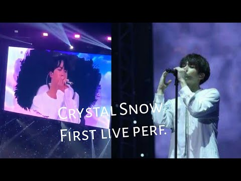 BTS 1st LIVE PERFORMANCE FOR CRYSTAL SNOW @Japan Fanmeeting