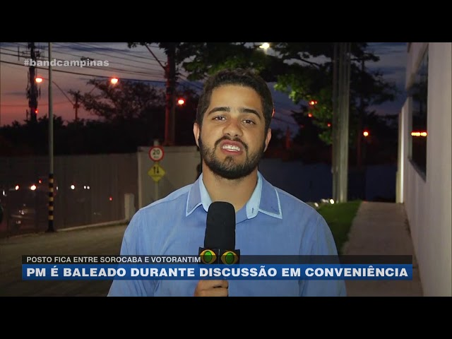 Entre Sorocaba e Votorantim: PM é baleado durante discussão em posto