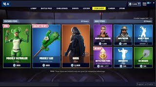*NEW*Prickly Patroller Skin! Fortnite Item Shop April 4, 2019