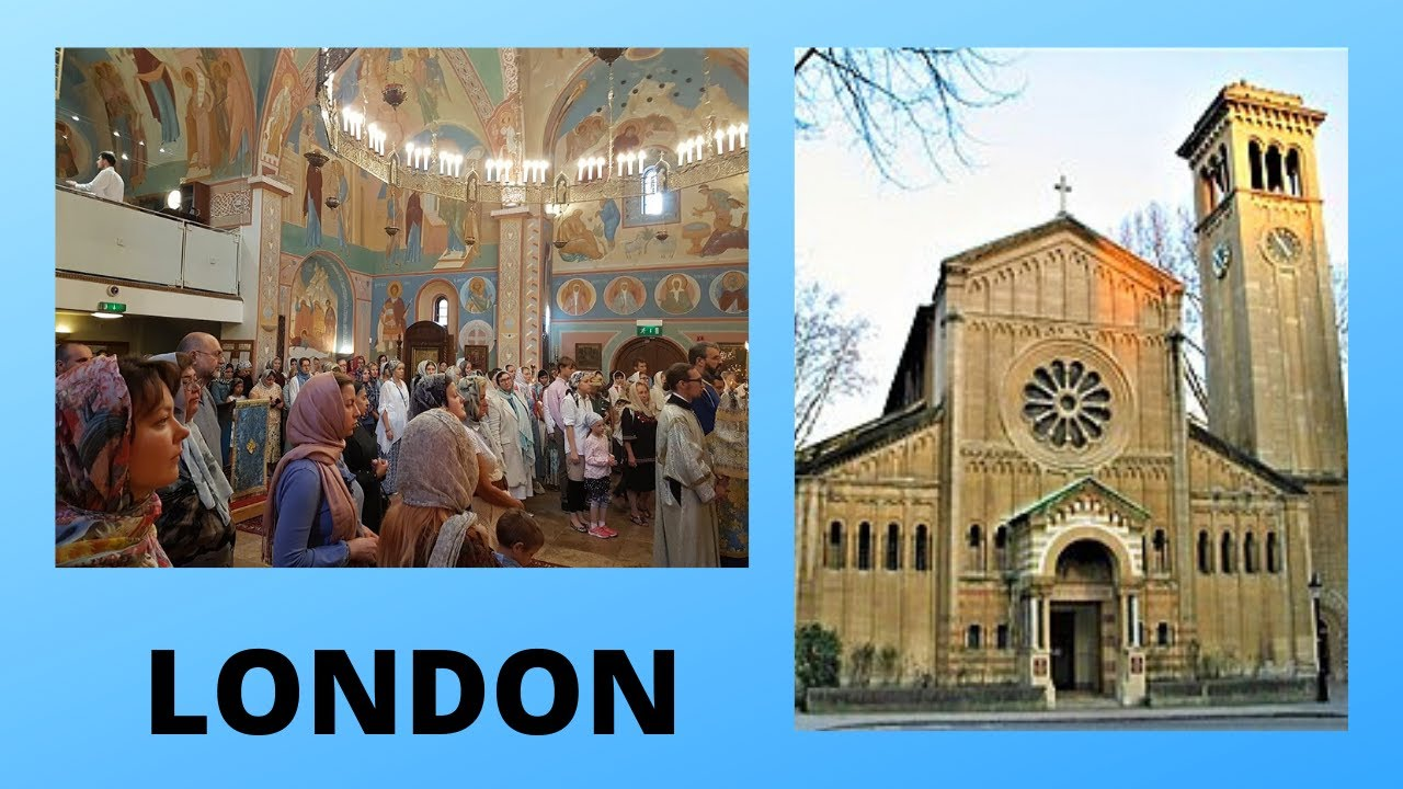 EXPLORING LONDON: The RUSSIAN (Orthodox) CATHEDRAL, England